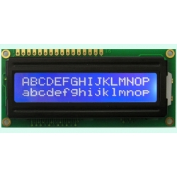 LCD 16x2 HD 44780 compatible blue