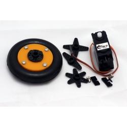 Roda dan Servo 360° DS04-NFC